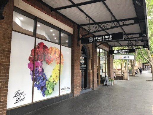 Pearsons shop exterior